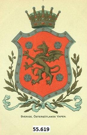 Vykort Heraldik